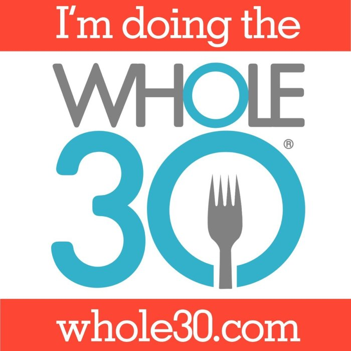 Whole30: Day 0